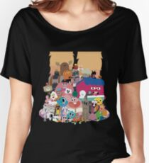The amazing world of Gumball Women's Relaxed Fit T-Shirt