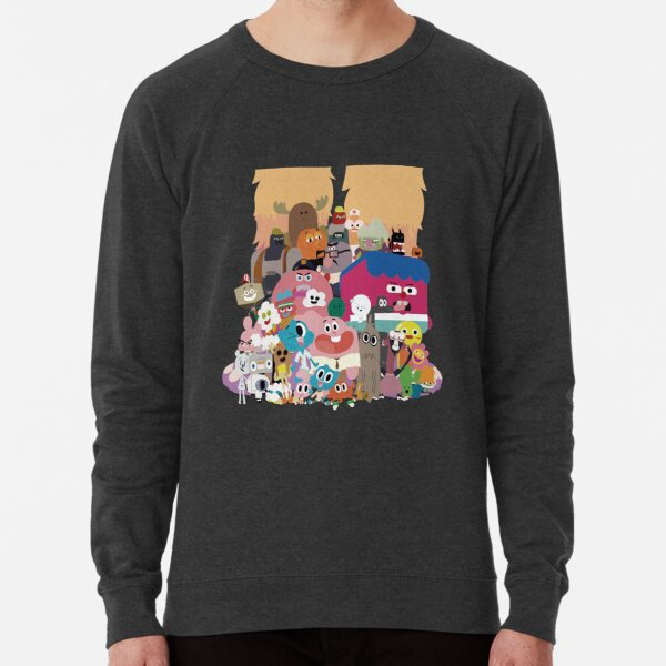 The amazing world of Gumball Lightweight Sweatshirt
