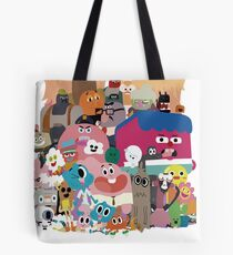 The amazing world of Gumball Tote Bag