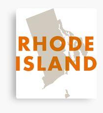Rhode Island - Red Canvas Print