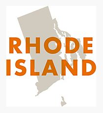 Rhode Island - Red Photographic Print
