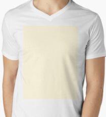 Cornsilk Yellow V-Neck T-Shirt