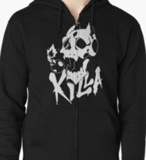 KILL-A symbol Zipped Hoodie