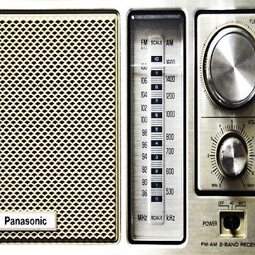 Vintage Radio by norastpatrick