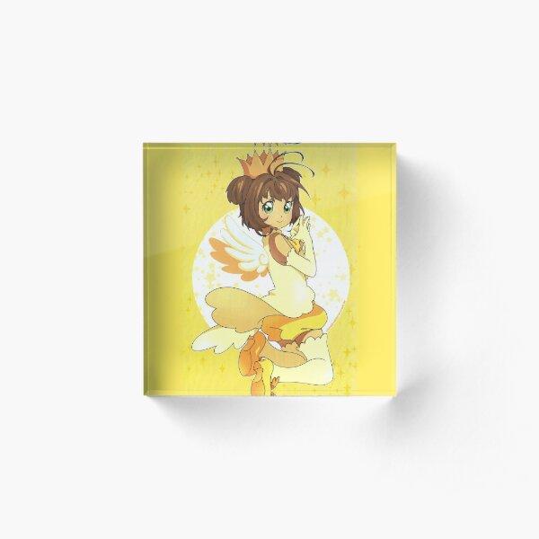 Sakura (by KiwiBlanco) Acrylic Block