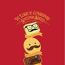 The League of Extraordinary Gentleman Biscuits by Rob Stephens