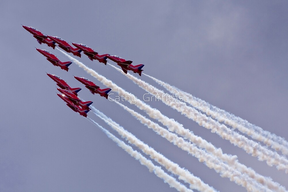 The Red Arrows by Cathy Griffiths