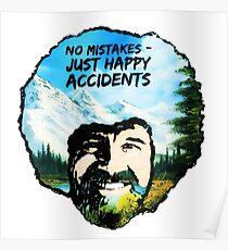 Bob Ross - Happy Accidents I Poster