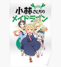 Miss Kobayashi's Dragon Maid Poster