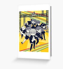 Persona 4   Reach out for the Truth Greeting Card