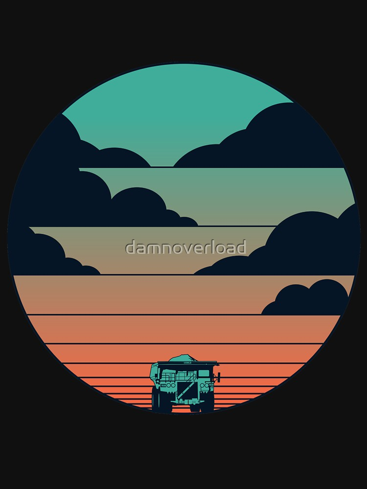 Over High Truck Sunrise by damnoverload