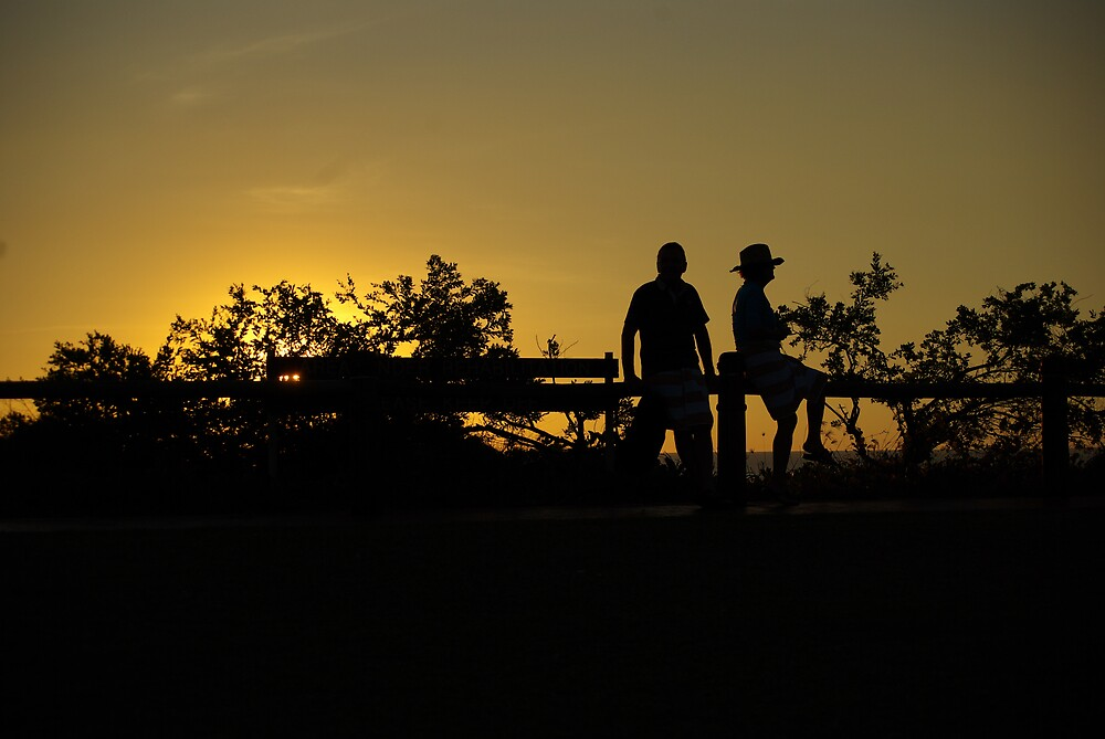 Sunset Silhouette by jayarr