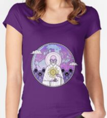 Bitcoin Zen Women's Fitted Scoop T-Shirt