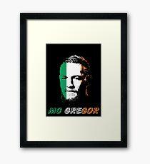 mc gregor ufc Framed Print