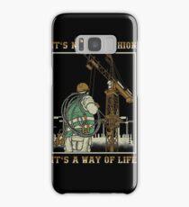Tower Crane Operator Samsung Galaxy Case/Skin