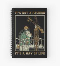 Tower Crane Operator Spiral Notebook