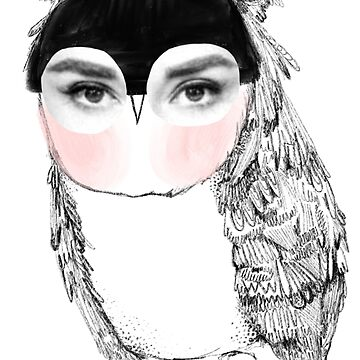 Audrey Owl by annieclayton