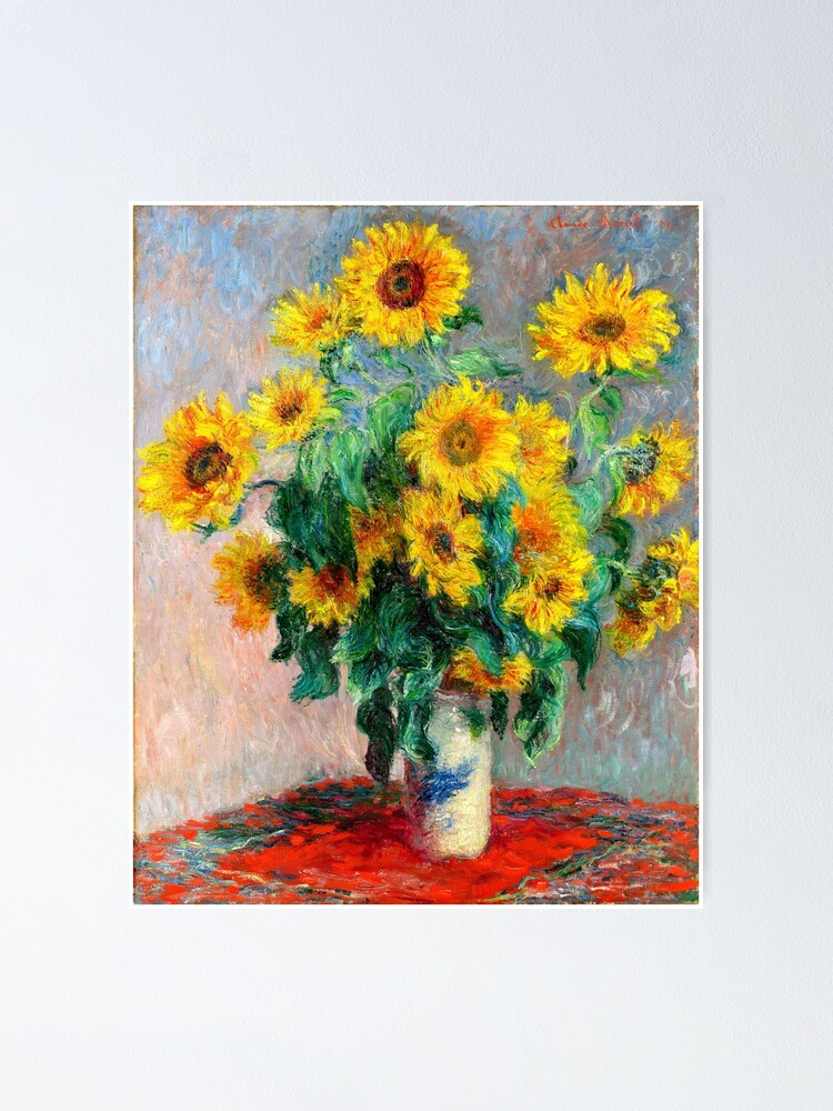 Alternate view of Bouquet of Sunflowers Poster