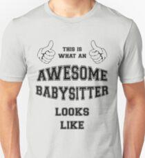 AWESOME BABYSITTER T-Shirt
