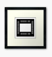 Xbox one x chip Framed Print