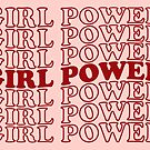 GIRL POWER (repeated) by lil-veg