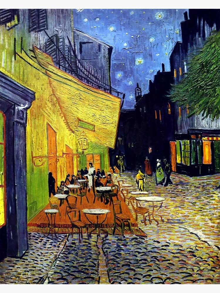 Cafe Terrasse bei Nacht von Goshadron