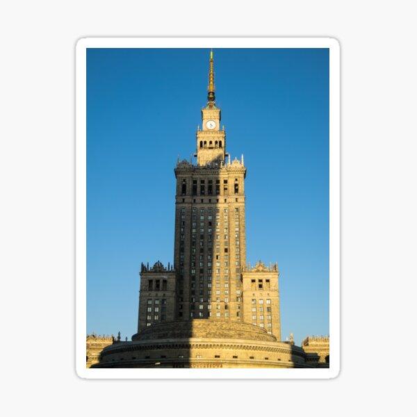 1630 - Warsaw Poland Sticker