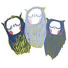 Trinity of Owls by annieclayton