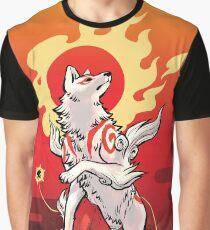 Sun Deity Amaterasu Graphic T-Shirt