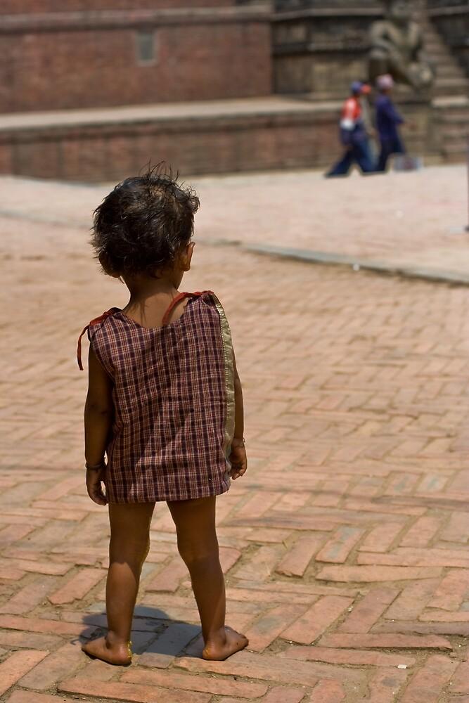Wandering boy by Olivier Lance