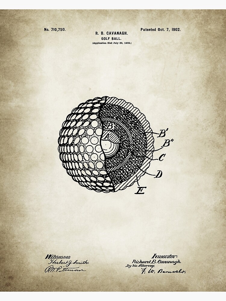 Golf Ball poster by Goshadron