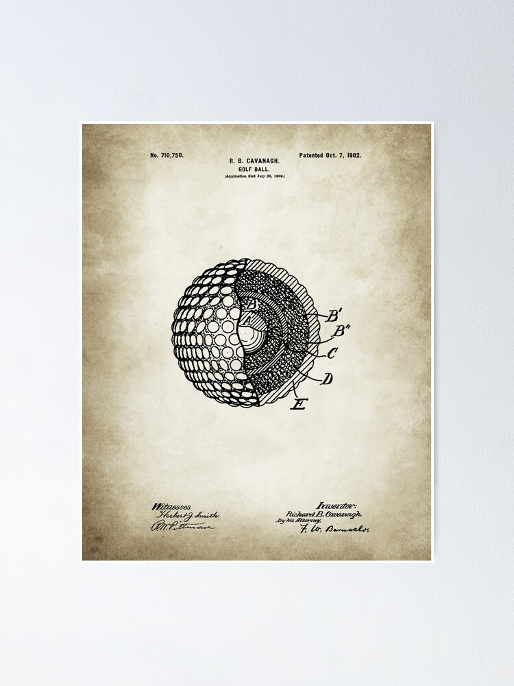 Alternate view of Golf Ball poster Poster