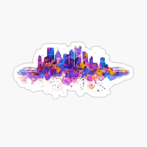 Pittsburgh Skyline Sticker