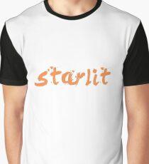 starlit logo Grafik T-Shirt