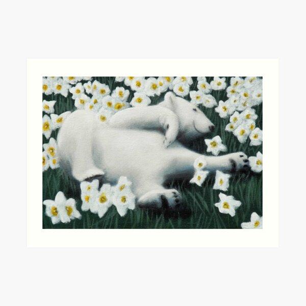 Finally Springtime Kunstdruck