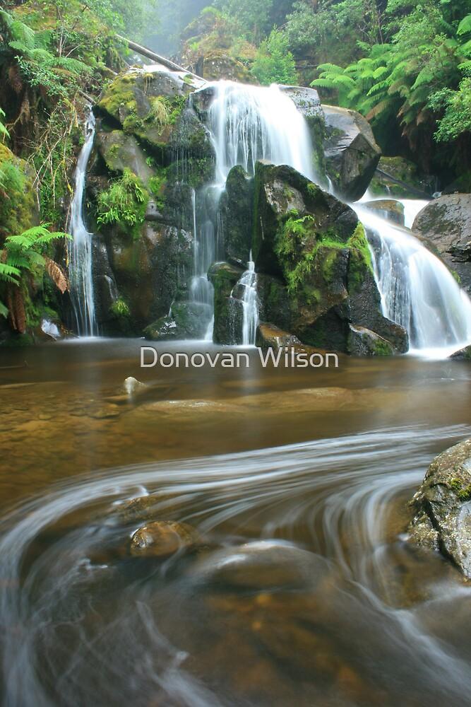 keppels falls top cascade by Donovan Wilson