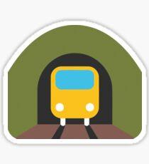 Tunnel Train Emoji Sticker