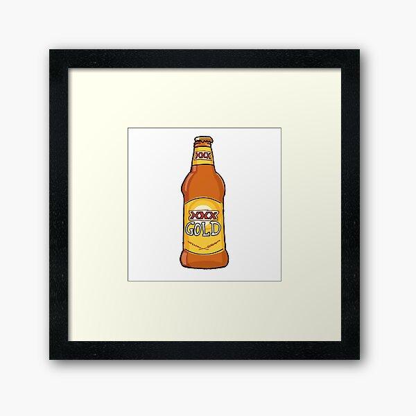 XXXX Gold - The Milton Mango Framed Art Print