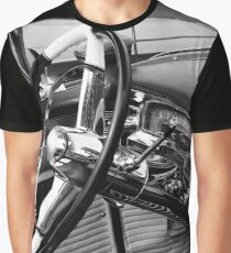 1954 cadillac, cockpit detail Graphic T-Shirt