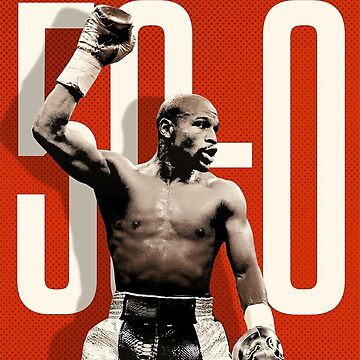 50-0 Floyd Mayweather by GALAXE