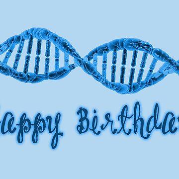 Happy Birthday - DNA  by garigots