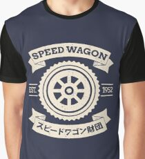 SPW - Speed Wagon Foundation [Cream] Graphic T-Shirt