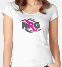 NRG Women's Fitted Scoop T-Shirt
