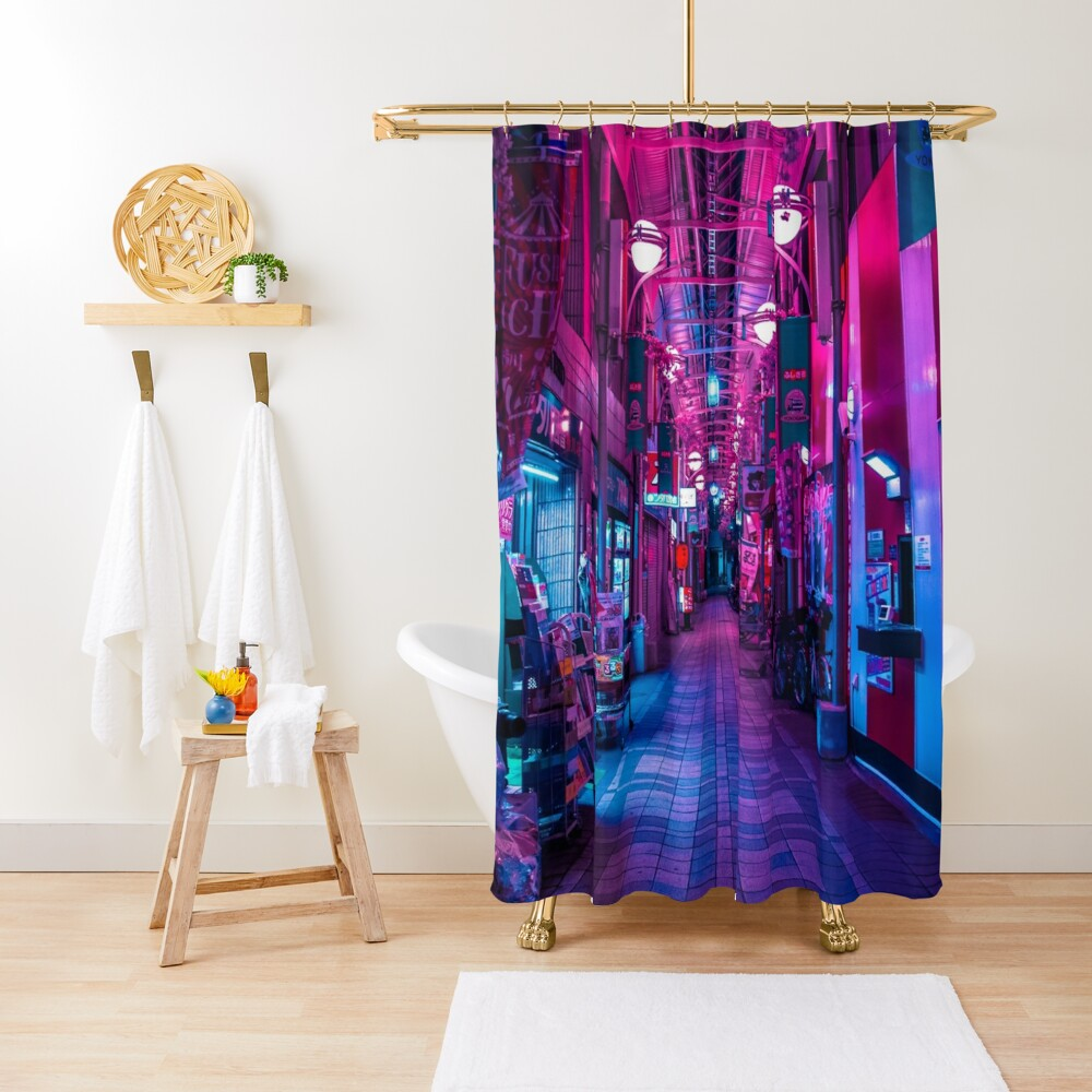 ENTRANCE TO THE NEXT DIMENSION Shower Curtain