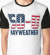 50-0 Mayweather V McGregor Graphic T-Shirt