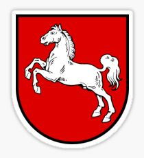 Lower Saxony coat of Arms, Germany Sticker