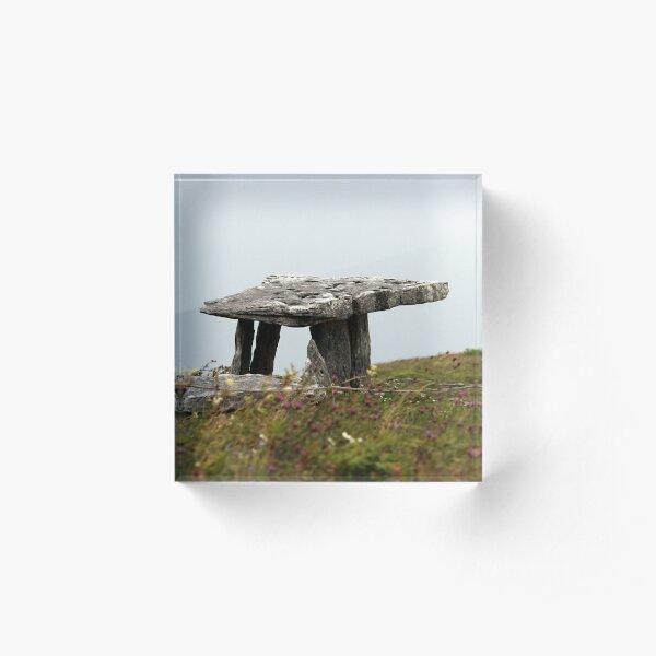 Poulnabrone Dolmen Acrylic Block