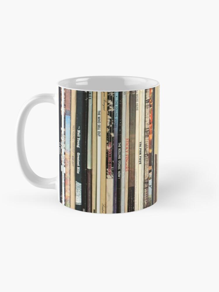 Alternate view of Classic Rock Vinyl Records  Mug