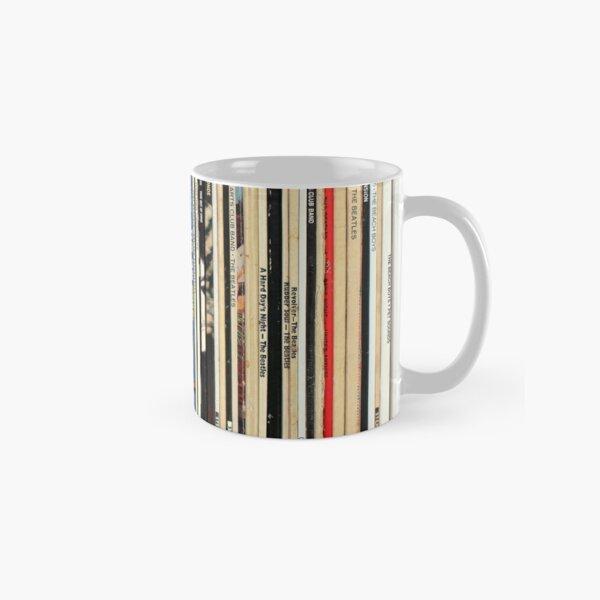 Klassische Rock-Schallplatten Tasse (Standard)