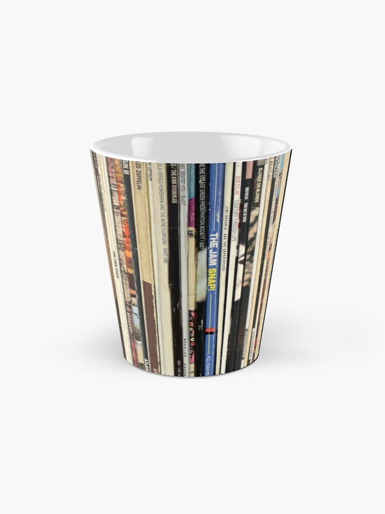 Alternate view of Classic Rock Vinyl Records  Mug